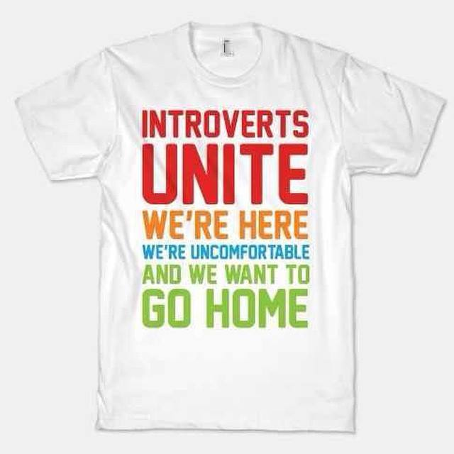 Introverts...
